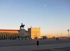 Voyages : Europe Praça Do Comercio - Lisbonne