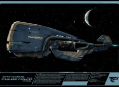 Fantasy and Science Fiction FULGETRUM - cargo rapide