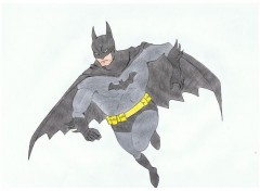 Art - Crayon Batman
