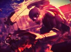 Manga Attack On Titan cuirassé Titan
