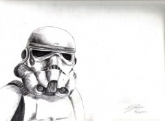 Art - Crayon storm trooper