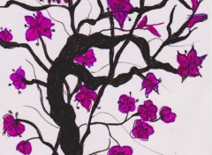 Art - Peinture Ikébana