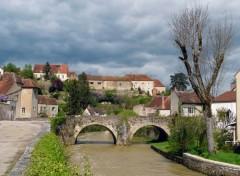 Nature Semur en  Auxois - Le pont des Minimes