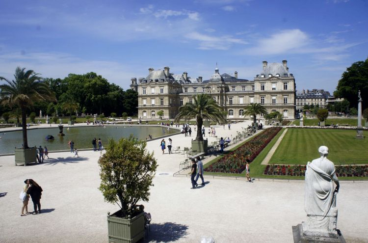 Wallpapers constructions and architecture wallpapers for Arbres jardin du luxembourg