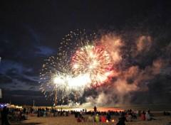 People - Events Feu d'artifice en bord de mer