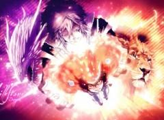 Manga REBORN wallpaper! Tsuna vs Byakuran