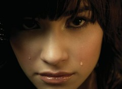 Celebrities Women Demi Lovato Crying