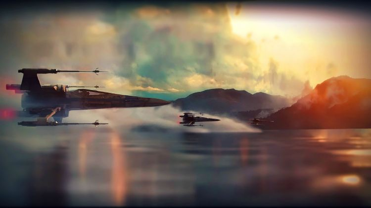 Wallpapers Movies Star Wars Star wars X-wing