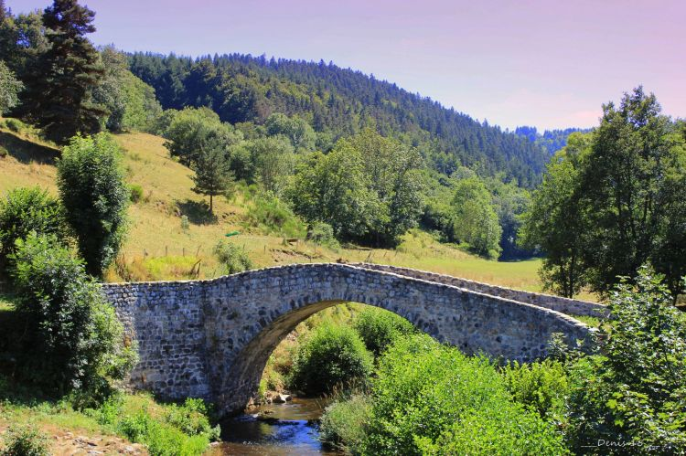 Wallpapers Constructions and architecture Bridges - Aqueduct AUVERGNE-HAUTE LOIRE