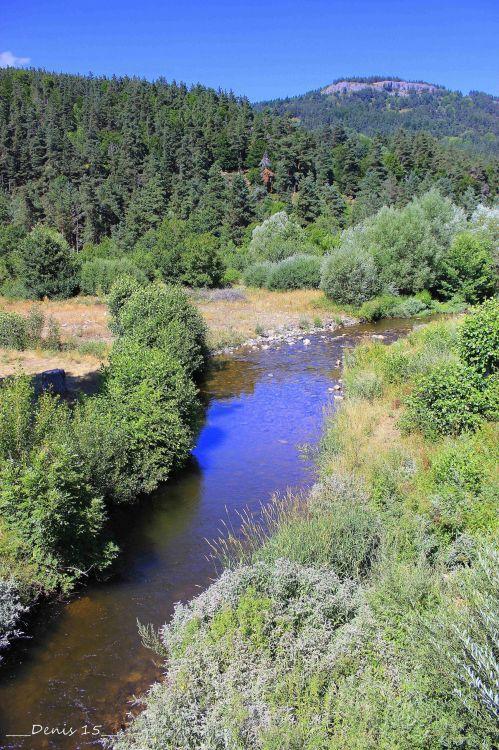 Wallpapers Nature Rivers - Torrents AUVERGNE-HAUTE LOIRE