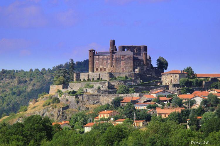 Wallpapers Constructions and architecture Castles - Palace AUVERGNE-HAUTE LOIRE