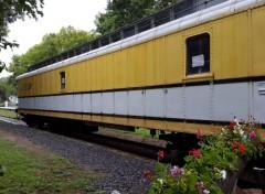 Various transports ancien wagon de tri de la poste