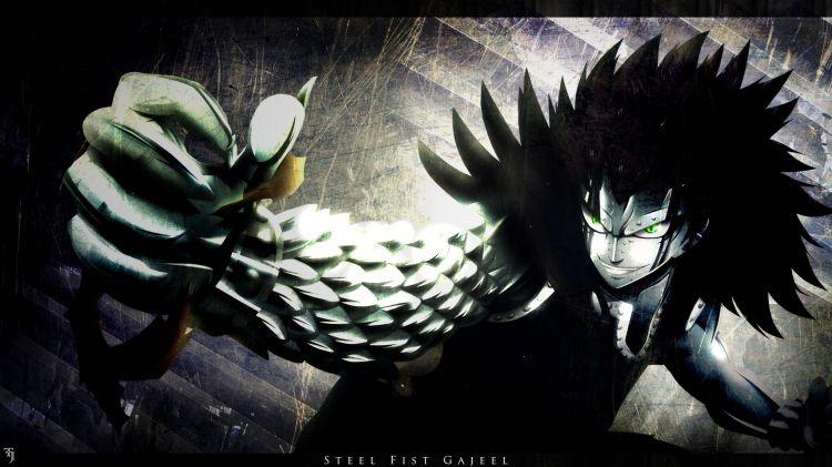 Fonds d'écran Manga Fairy Tail Steel Fist Gajeel