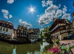 Constructions and architecture Strasbourg..la petite france