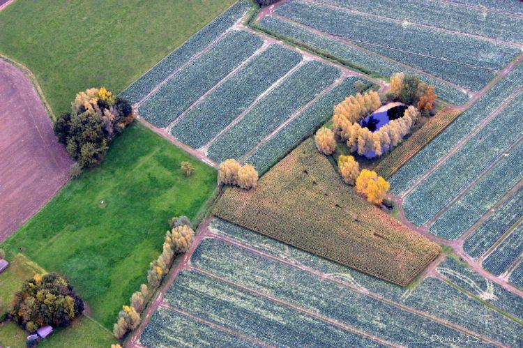 Wallpapers Trips : Europ France > Nord Pas de Calais Petit tour en ballon au dessus des Flandres.