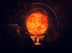 Art - Numérique The space lamp
