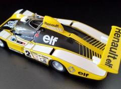 Cars ALPINE-Renault A442b victorieuse 24 Heures du Mans 1978