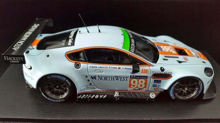 Wallpapers Cars Cars - Toys Aston Martin V8 Vantage - 24 Heures du Mans 2014