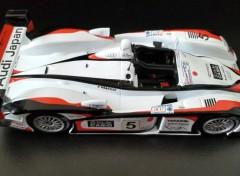 Voitures Audi R8 victorieuse des 24 Heures du Mans 2004