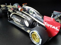 Cars LOTUS RENAULT E20 Kimi Raikkonen winner GP Abu Dhabi 2012