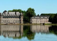 Trips : Europ Le château de Beloeil (Belgique)
