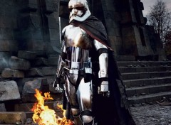 Cinéma Star Wars VII Captain Phasma