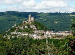 Voyages : Europe Najac (Aveyron)