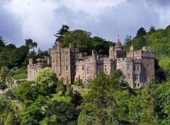 Voyages : Europe Le château de Dunster (Devon)