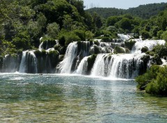 Trips : Europ Les chutes de Krka