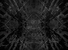 Art - Numérique Abstract Black & White Design