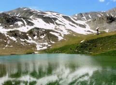 Voyages : Europe Le lac Ste-Marguerite (Hautes-Alpes)