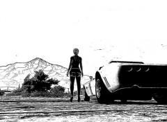 Jeux Vidéo Bimbo et auto sur GTA V