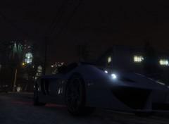 Video Games GTA V CarNight