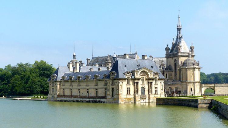 Fonds d'écran Voyages : Europe France > Picardie Le château de Chantilly (Oise)