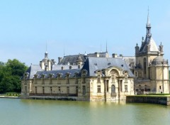Voyages : Europe Le château de Chantilly (Oise)