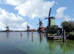 "Voyages : Europe Moulins du ""Zaanse Schans"""