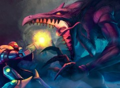 Jeux Vidéo Metroid Anniversary fan art - Noe-Leyva - deviantart