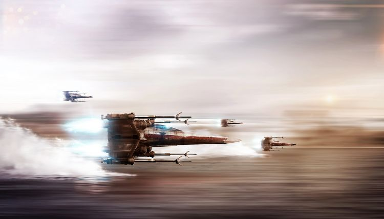 Fonds d'écran Cinéma Star Wars Xwing