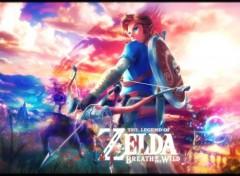 Jeux Vidéo The Legend of Zelda - Breath of the Wild Wallpaper