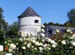 Voyages : Europe L'abbaye et les jardins de Valloires (Somme)
