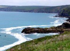 Voyages : Europe La côte à proximite de Port Isaac (Cornwall)
