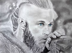 Art - Pencil Ragnar Lothbrok - Vikings