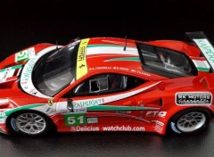 Cars FERRARI 458 Italia GT2 - 24 Heures du Mans 2011 - Team AF CORSE