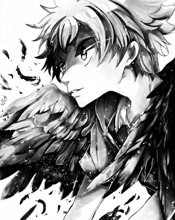 Wallpapers Art - Pencil Manga - Miscellaneous Hinata Shôyô
