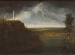 Art - Peinture La Tombe du général Brock, Queenston Heights, Ontario - 1830 - Thomas Cole