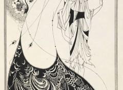 Art - Painting Salomé (Salomé et le gêolier)- 1906 - Aubrey Beardsley