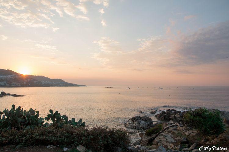 Fonds d'écran Nature Couchers et levers de Soleil lever de soleil Rosas