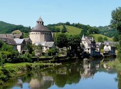 Voyages : Europe Sainte-Eulalie-d'Olt (Aveyron)
