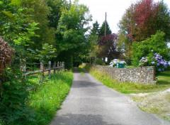 Nature Chemin de promenade Durcet