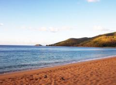 Trips : North America Plage de Grande-Anse à Deshaies sur la Basse-Terre en Guadeloupe